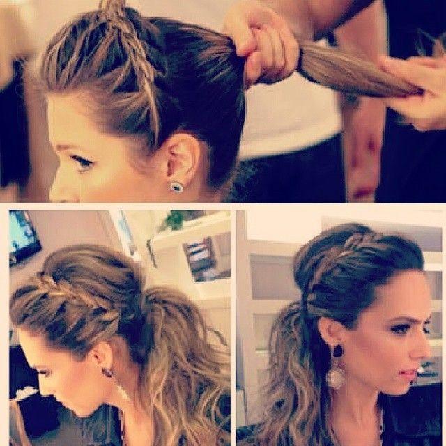#ShareIG Un peinado ideal para el día y también puede ser utilizado para la noche...  #hair #hairdo #peinado #Perfect #girly #glam #Good #Fashionista #woman #Cute #soycoqueta #Espectacular #Tipsfashionvzla #girl #Glamour