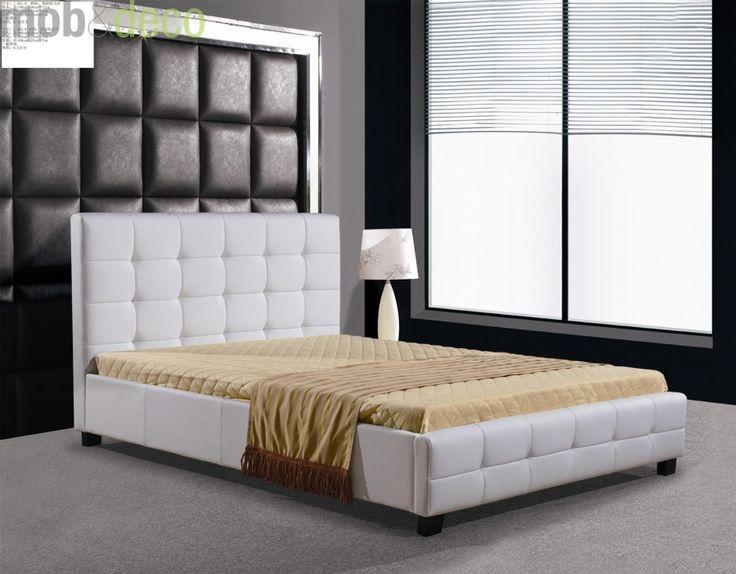 Pentru cei care adora simplitatea si eleganta unui pat tapisat cu spatar inalt recomandam un model deosebit. Blanche este patul cu influente clasice care atrage prin linii drepte si fine ideale pentru un dormitor intim si primitor care stie cum sa se impuna: http://despreacasa.ro/pat-tapisat-blanche/