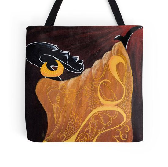Magic Man tote bag by I Love the Quirky