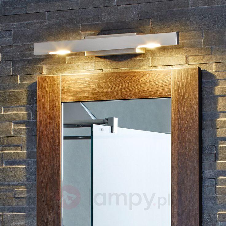 Lampa ścienna LED SINA nikiel/mat, 40 cm 6722084