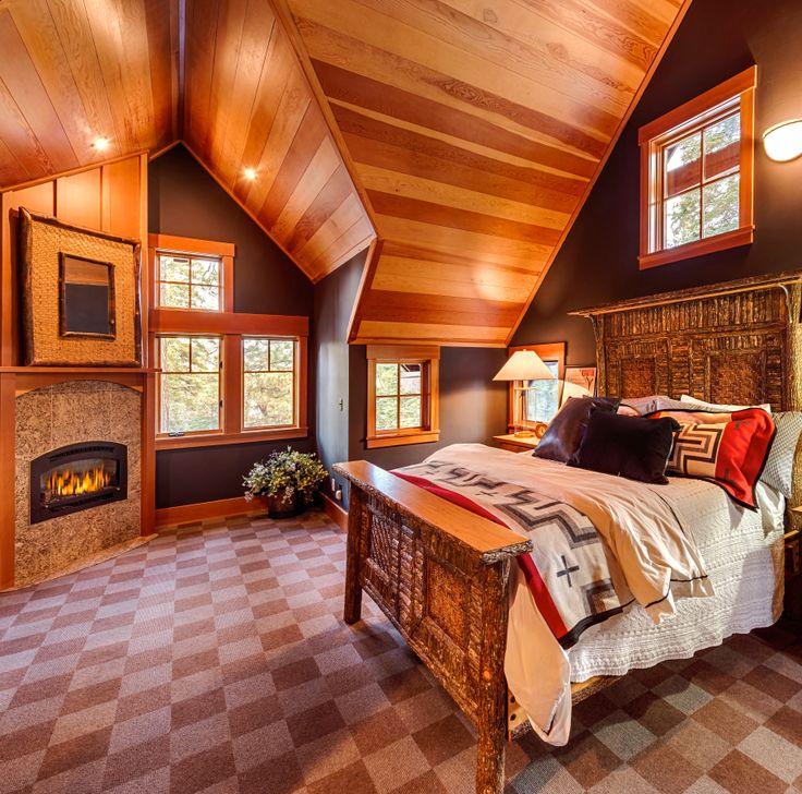 Private Rustic Estate Bedroom Boice O Neal Realty Truckee California Californiamaster Bedrooms