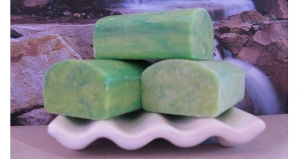 Aloe Vera & Jojoba – Goats Milk Soap - If nature provided 2 plants that help our skin directly, Jojoba oil to help skin rejuvenate and Aloe Vera extract to help sooth and protect when our skin is damaged then these oils were the chosen two. So we took these 2 prime ingredients, added both to our oils plus Australian Goats Milk then some Lemon, Eucalyptus and Tea Tree to give the bar a fresh tone.
