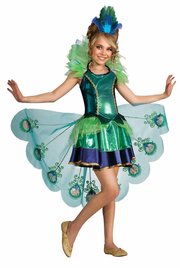 Peacock Girl Child Costume, 804403