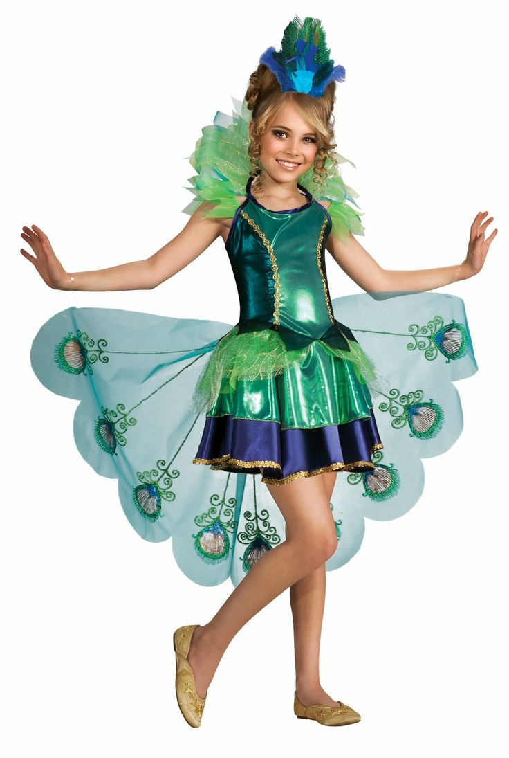 Peacock Girl Child Costume, 804403