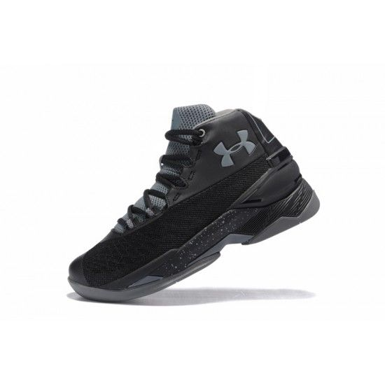 cheap under armour curry 3.5 black grey mens shoes