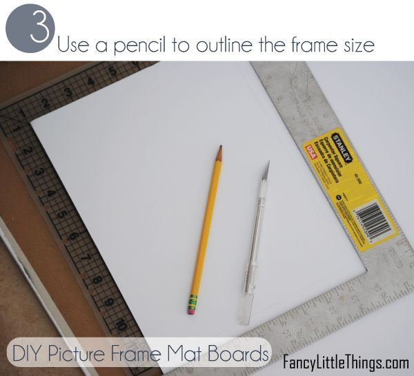 DIY matting for frames. Must try!