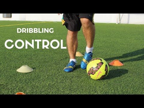 Dribbling and Shooting Drill To Improve Your Weak Foot In SOCCER - YouTube