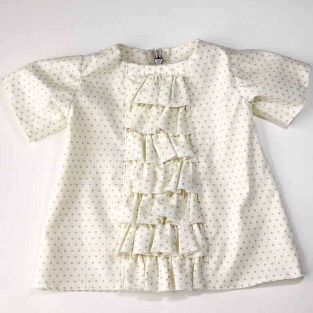 ruffled baby dress tutorial - see kate sew