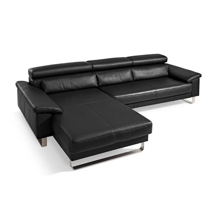 Fancy Segm ller Werkst tten Sofa Mercury schwarz Schwarz Leder Jetzt bestellen unter http