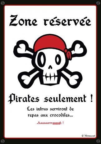 poster pirate à imprimer