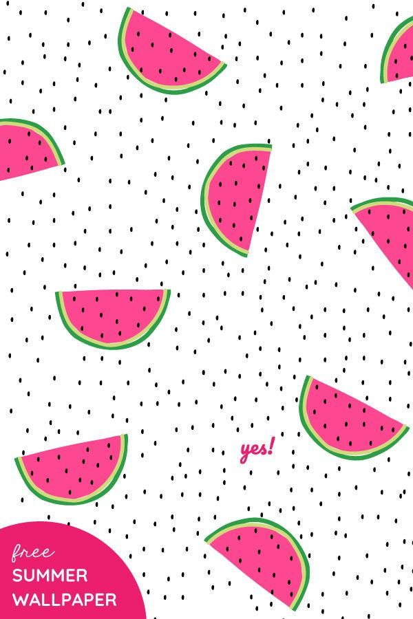 Free Watermelon Wallpaper Background Yes We Made This Watermelon Wallpaper Fruit Wallpaper Wallpaper Backgrounds