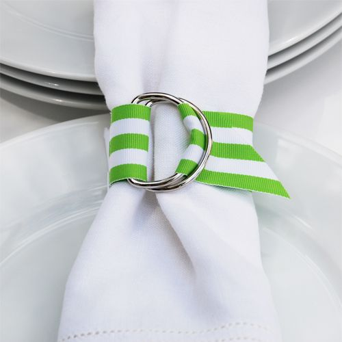 Cute napkin rings that would be easy to make (and cheap)