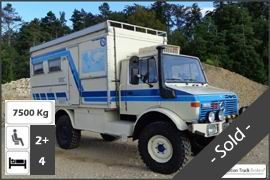Unimog 1300 4x4 Expedition Truck