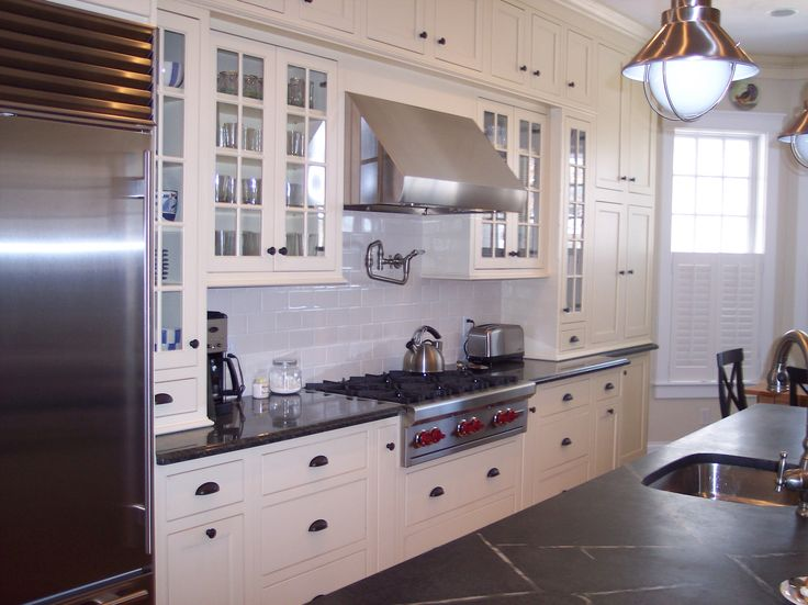 24 best cape cod kitchen images on pinterest herringbone for Cape cod kitchens pictures