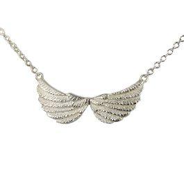 Silver Tiny Double Wing Necklace - £104.00 (Designer: Jana Reinhardt)