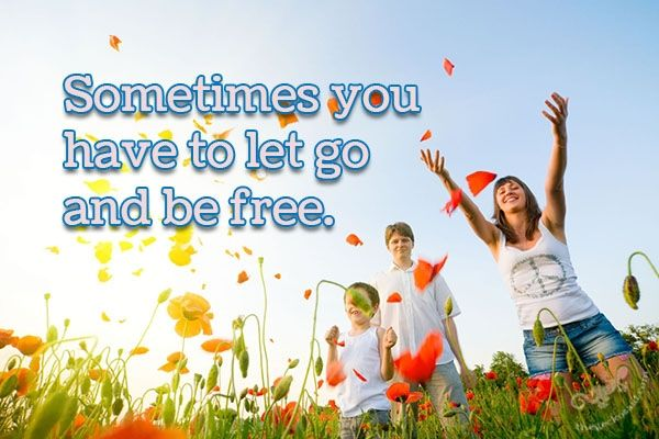 """""""Sometimes you have to let go and be free.""""  #sometimes #free  ©The Gecko Said - Beautiful Quotes - www.thegeckosaid.com"""