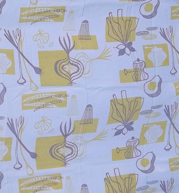 Ben Rose Designer Textile Decor Vintage Fabric Tablecloth ...