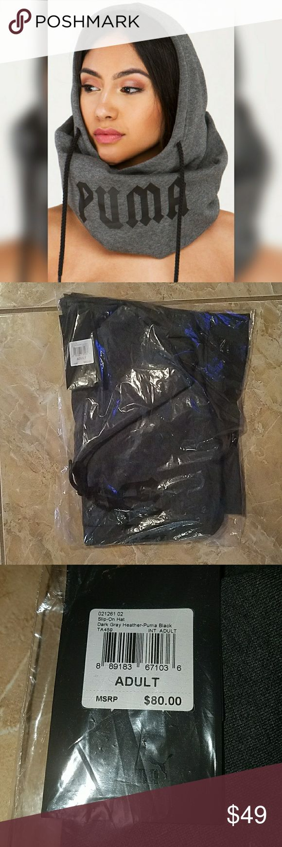 Fenty Puma Rihanna Hoody Slip on Hoodie Hat Brand new never taken out of original packaging. Guaranteed authentic purchased at Puma.com. one size fits all $80 sold out! Accessories Hats