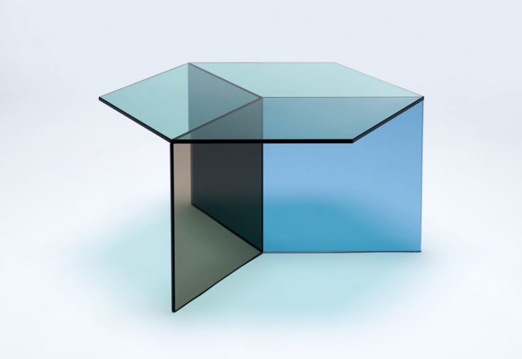 Tavolino, geometria e trasparenze in blu, verde e marrone. Side table, geometry and transparecy in blue, green and brown. Isom Square by @NEOCRAFT_Berlin en.neocraft.com #vemblu