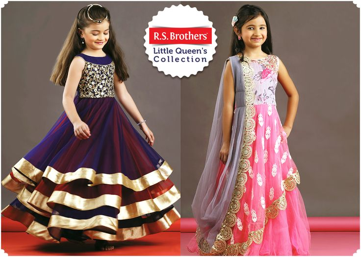 All little Girls will look like ‪#‎Angels‬ by picking this ‪#‎Frock‬. More Range of Kids Branded Outfits in Top Designs Waiting for you @RSBrothers.