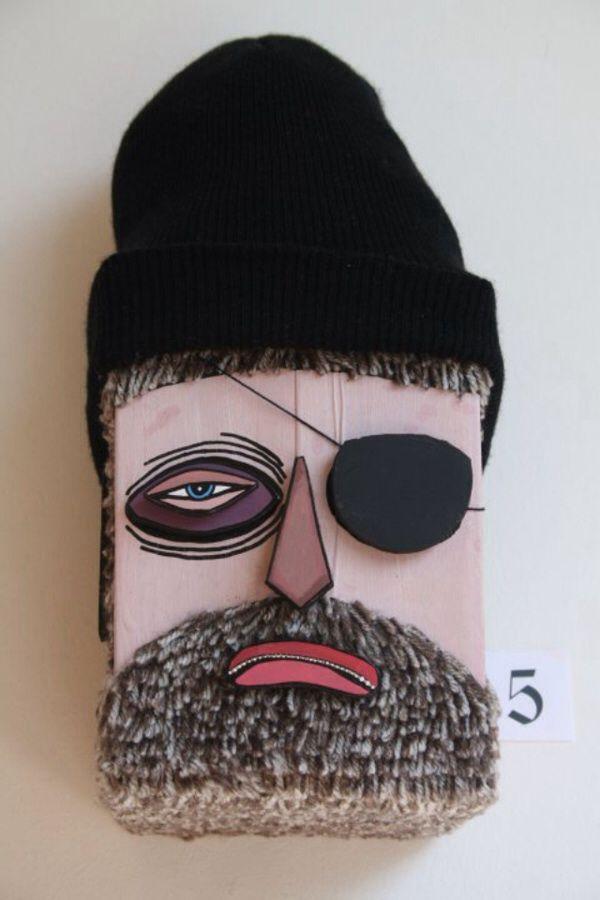 Pirate Eye skateboard deck #tired #beardman #board