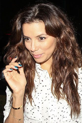 Eva Longoria without makeup?  We can't really tell the difference.  She's just as beautiful as ever.