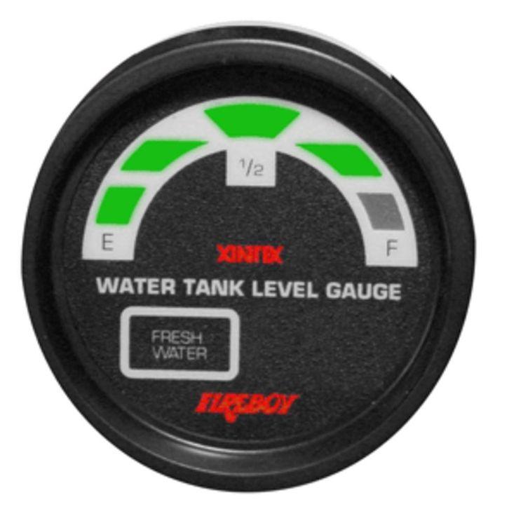 Xintex Water Tank Display Round 2 Gauge f-2 Fresh Water Tanks