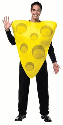 Adult Cheese Costume, Wine And Cheese Costume