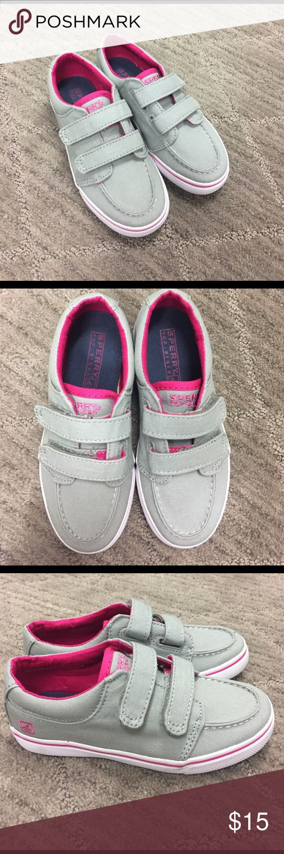 Toddler Girl Sperrys (never worn) Toddler Girl Sperrys - BRAND NEW - never worn Sperry Shoes Sneakers