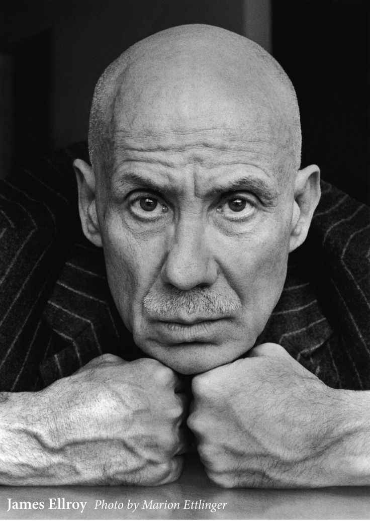 James Ellroy - complete badass and one of my favorite authors.