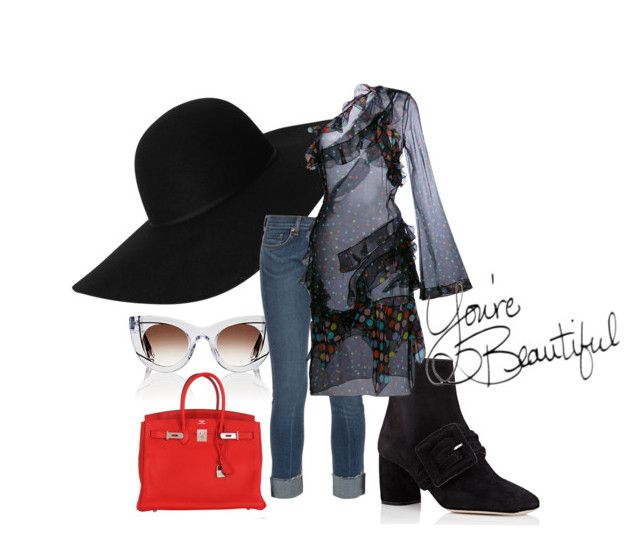 Transparent trend by illetilmote on Polyvore featuring Givenchy, rag & bone, Miu Miu, Hermès, Monki and Thierry Lasry