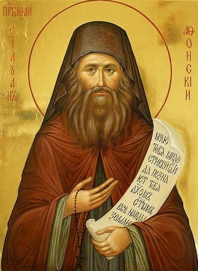 ST SILOUAN the Athonite