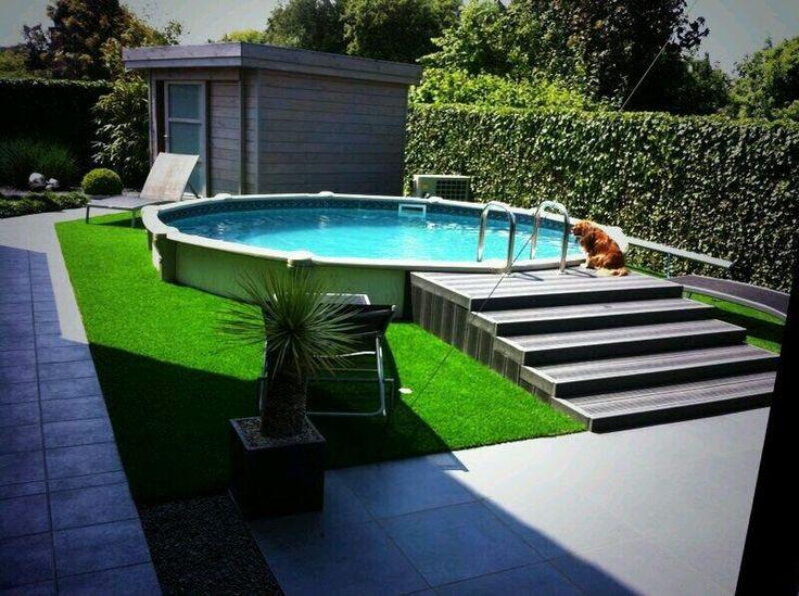 Kunstgras rond het zwembad forgrass kunstgras kunstgras pinterest - Ontwikkeling rond het zwembad ...