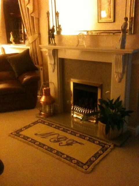 My arraiolos rug is in England, and they love it!!
