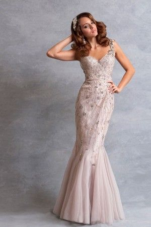 Designer Wedding Dresses Lace Silk Beaded Tulle Bridal Gowns The