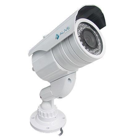 Câmera Infravermelho 30M CCD Colorido 1/3 Sony 420TVL Varifocal AL-CIR-340 Branca - Alive Eletronics  http://www.mreletro.khia.com.br/