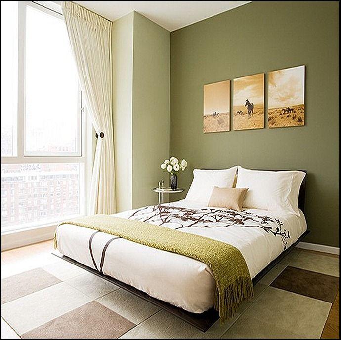 artichoke green for a guest room