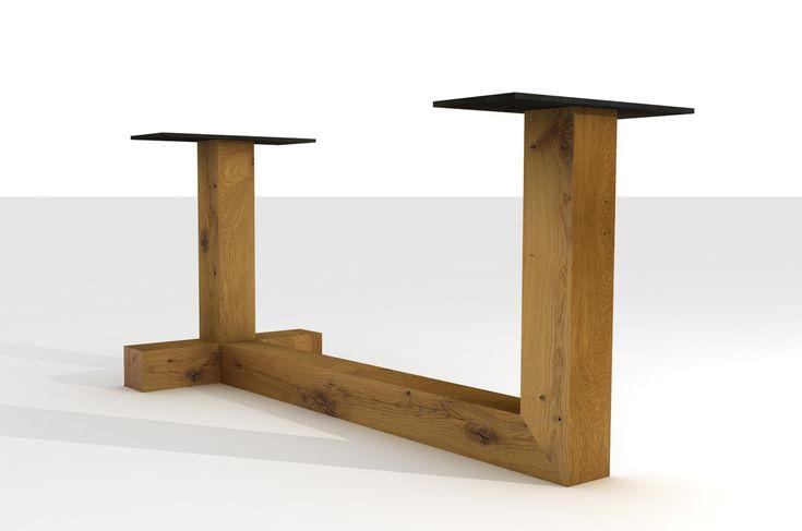 1000 ideen zu tischgestell auf pinterest diy tisch for Esszimmertisch industriedesign
