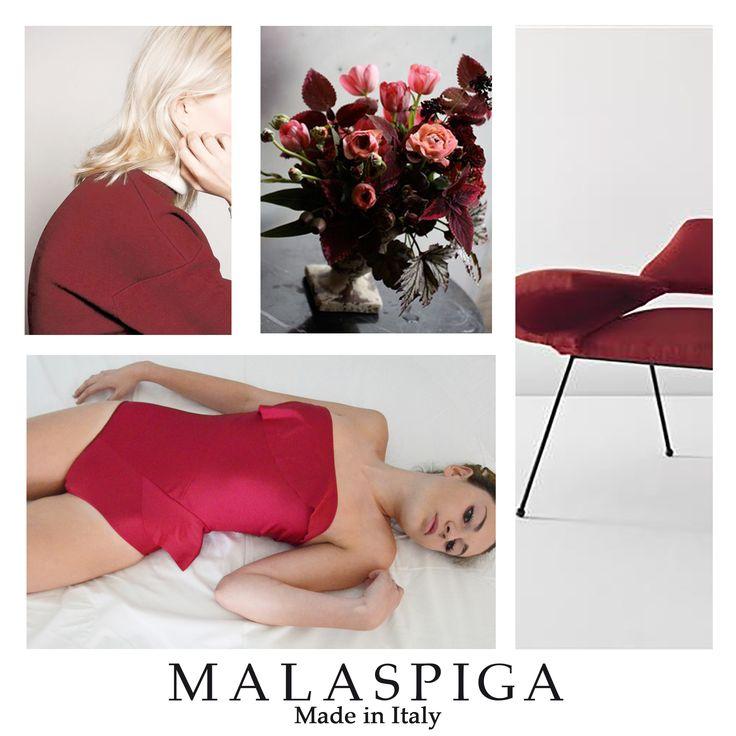 #swimwear #malaspiga #swimsuit #madeinitaly #bordeaux #chic #summer #luxury #trend