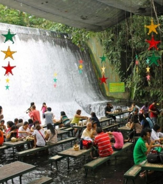 167 best images about restaurants i want to go to on for Villa escudero resort with the waterfalls restaurant in philippines