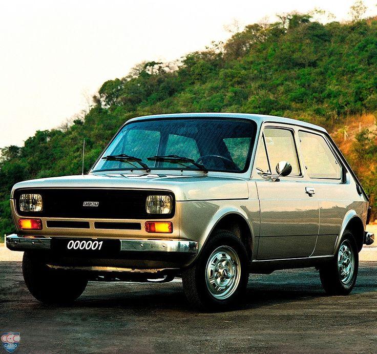 Fiat 147 1976 PARABÉNS @Fiatbr! A marca italiana completa 40 anos de produção no…