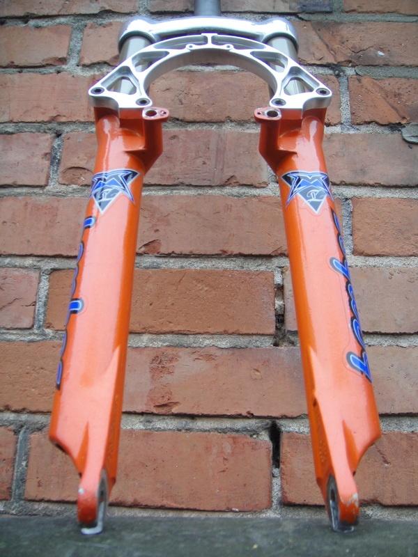 Marzocchi Z1 Bomber suspension forks