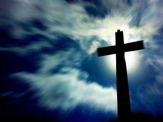Christian jesus christ wallpaper BLURRY SKY CROSS Beautiful photograph