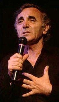 Charles Aznavour | monde célèbre chanteur arménien-français