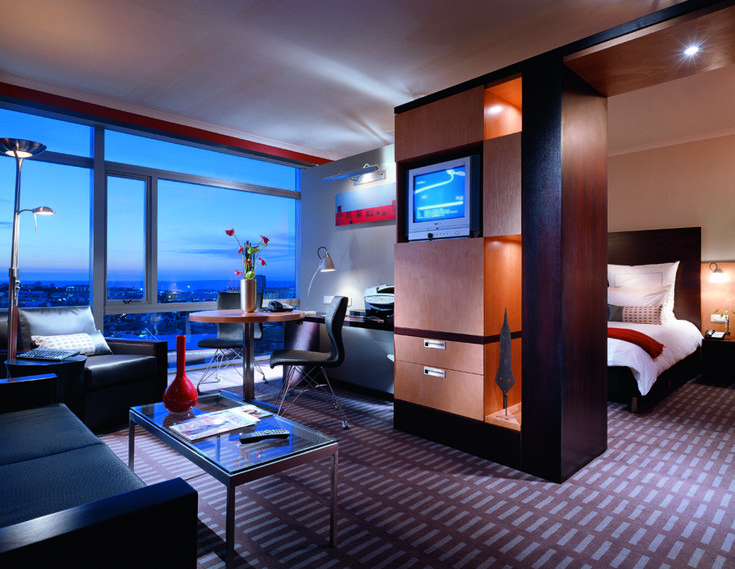 Westin Cape Town Guest Suite. Interior design by Source Interior Brand Architecture.