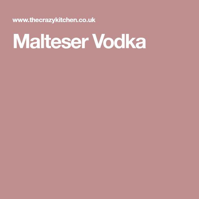 Malteser Vodka