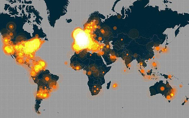 Je Suis Charlie hashtag one of most popular in Twitter history