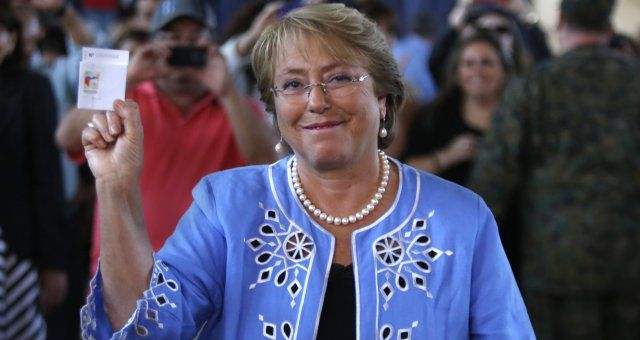Chile's future President is Michelle Bachelet. #MedicinesMexico #Chile #Presidency