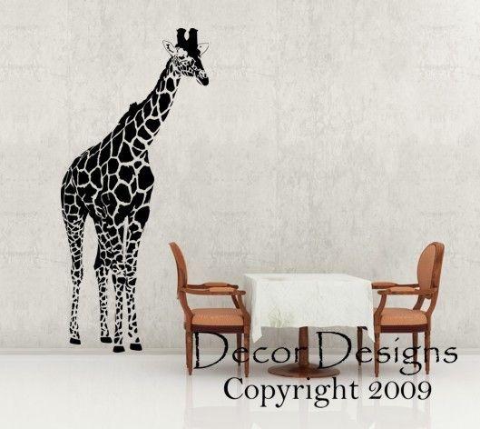 Best Makenas Safari Room Images On Pinterest Safari Room - Sporting clay window decalsgiraffe garden statue giraffe clay pot clay pot animal