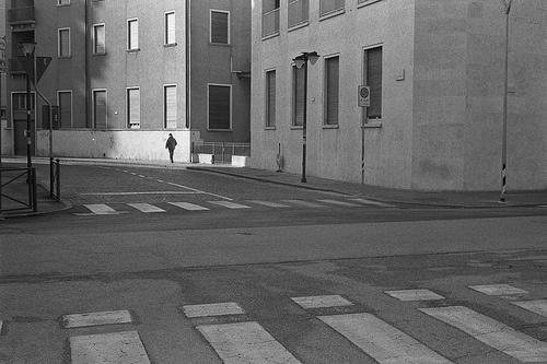 Walking #street #treviso #leica #photography #walking